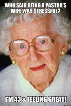 pastors wife granny